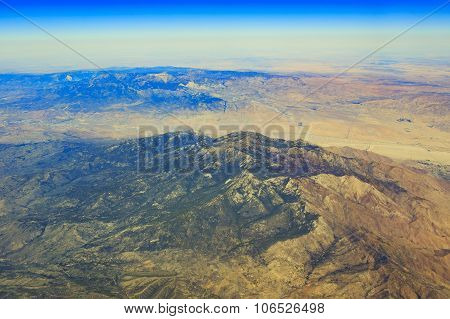 Mt. San Jacinto At Palm Springs From Top