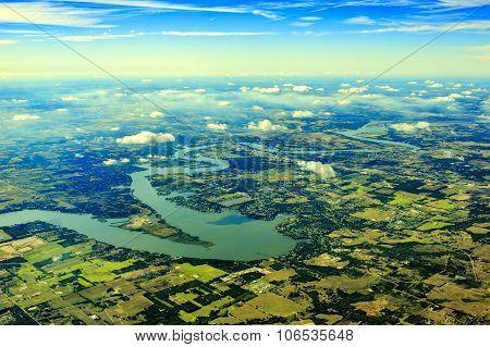 Lake Texoma From Top