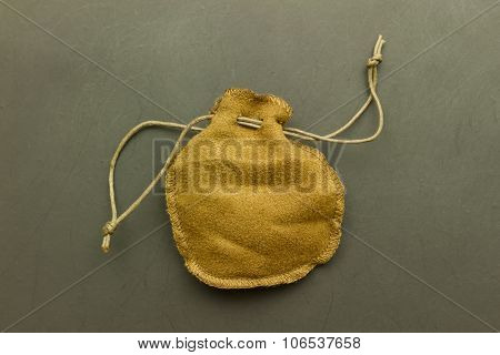 Brown Empty Pouch