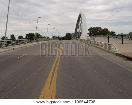 Main St Bridge With Markings