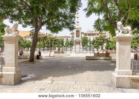 Plaza De La Merced, Malaga