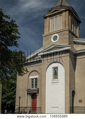 Historic First African Baptist Church In Savannah Georgia