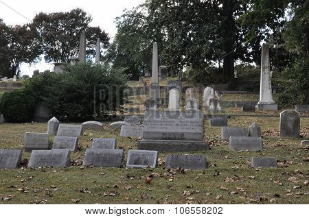 Hollywood Cemetery in Richmond, Virginia