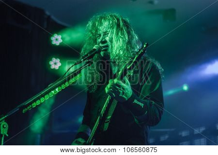 Megadeth live in Brisbane October 2015