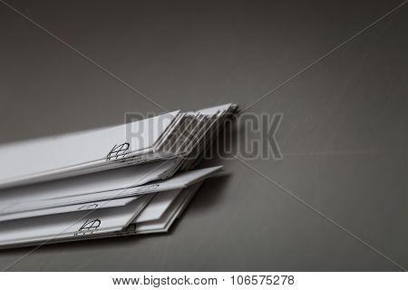 Paper Waste After Work Printing Machine