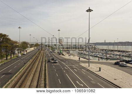 Brasilia Avenida In Lisbon