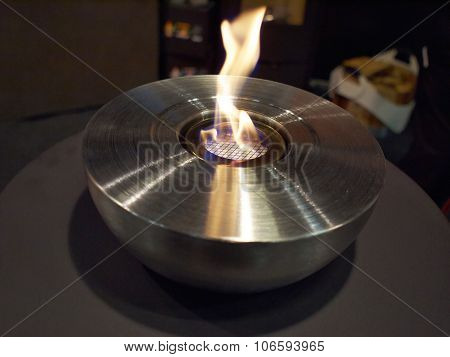 Decorative Modern Bio Ethanol Lamp