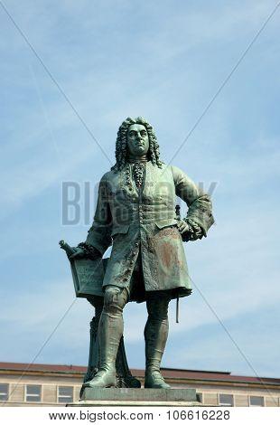 Monument To George Frideric Handel, Halle (saale), Germany
