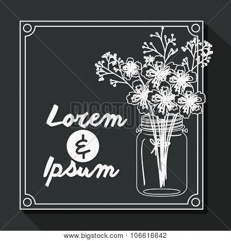 Married Invitation design , vector illustration