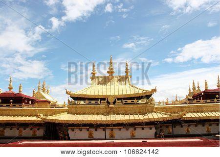 Jokhang Temple Golden Roof