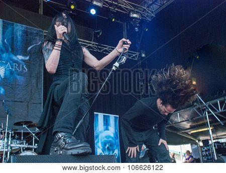 Ne Obliviscaris live at Soundwave Festival in Brisbane