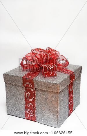 Silver Wrapped Gift