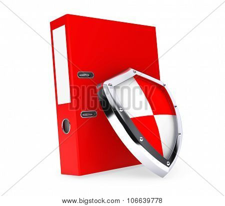Achive Office Binder With Protection Shield