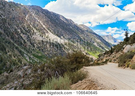 Path Along The Mountain