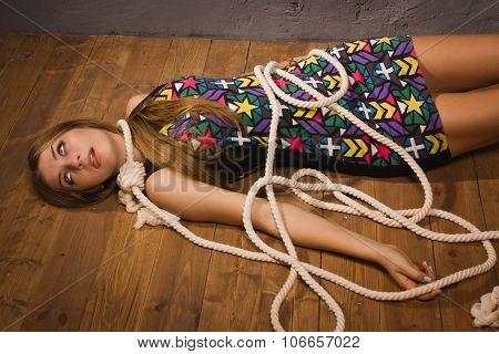 Crime Scene Simulation: Hanged Woman