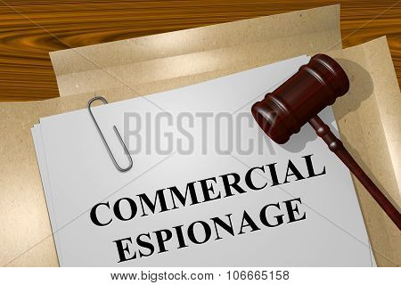 Commercial Espionage Concept