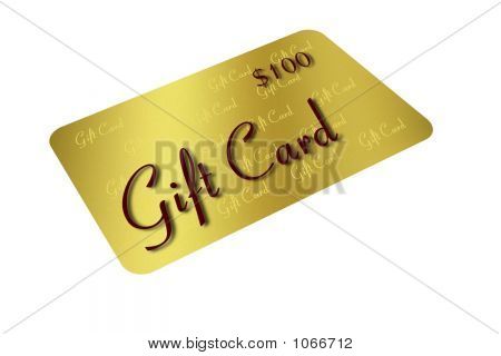 Gold Gift Card 2