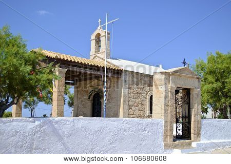 chapel in Aegina island Greece