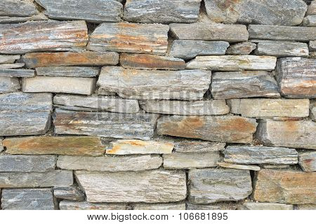 Old Background Antique Castle Ruins Wall