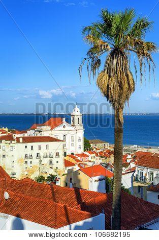 Alfama, The Old Quarter Of Lisbon, Portugal