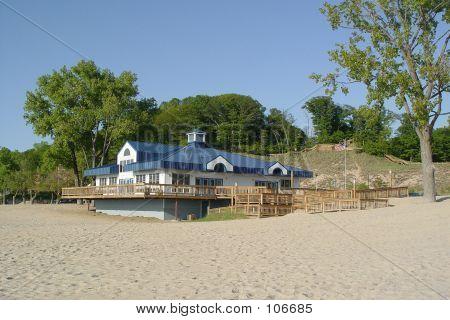 Lake Michigan Dunes Beach House