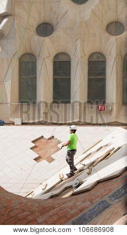 The Construction Of The Sagrada Familia