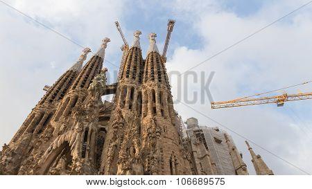 Unusual Sagrada Familia In Barcelona