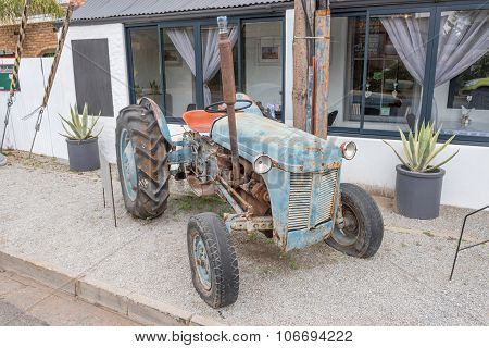 Tractor Display At The Muishuis