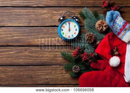 Alarm Clock And Christmas Stuff