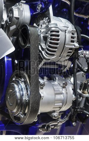 Engine of commercial truck