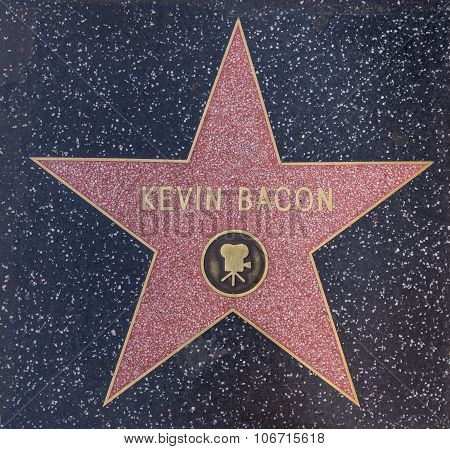 Kevin Bacon Star