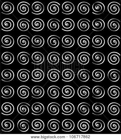 Background with spirals pattern