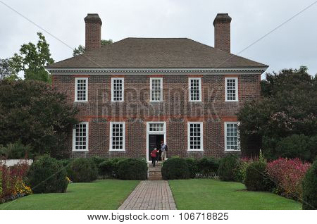George Wythe House in Williamsburg, Virginia