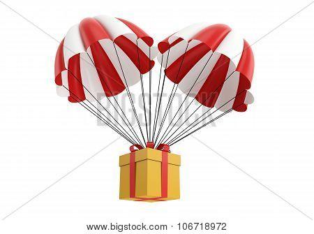 parachute box