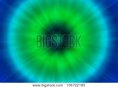 a green and blue colorful psychedelic tie dye background with a retro look