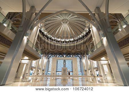 Iron Mosque or Tuanku Mizan Zainal Abidin Mosque, Putrajaya
