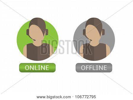 Illustration of  Operator icons