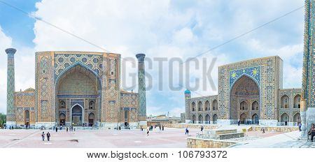 The Madrasahs Of Samarkand