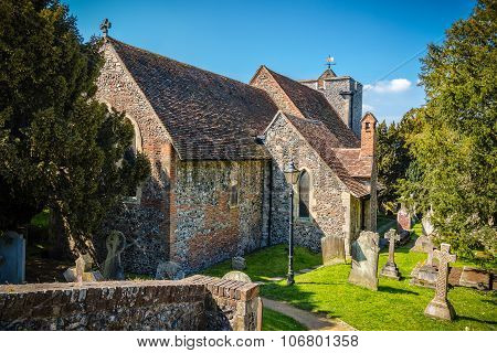 St Martin's Church In Canterbury, The First Church Founded In England