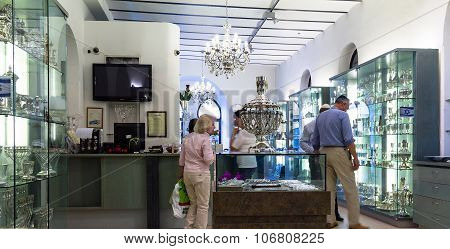 Judaic Store On Mamilla Street