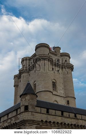 The Keep Of Vincennes Castle.