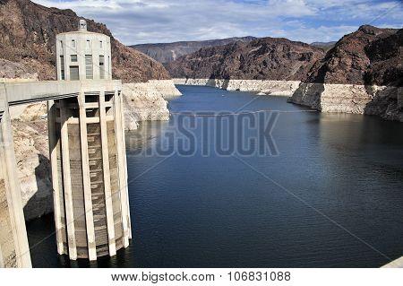 Lake with Dam Turbine