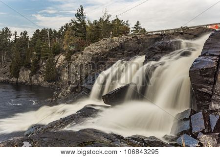 Strong Flow Of High Falls