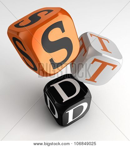 Std (sexually Transmitted Diseases) Box Cubes