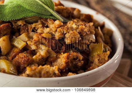 Homemade Thanksgiving Day Stuffing