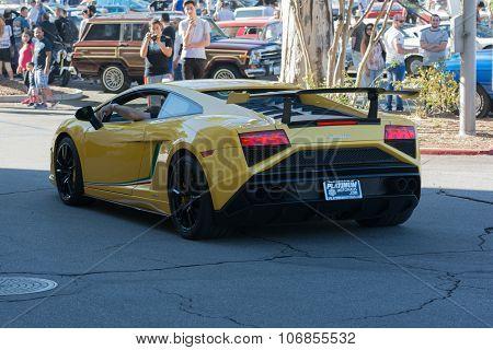 Lamborghini Gallardo On Display