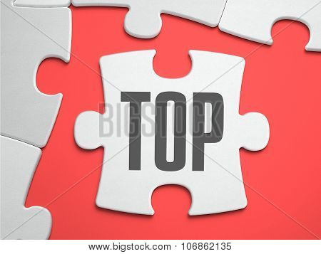 TOP - Puzzle on the Place of Missing Pieces.