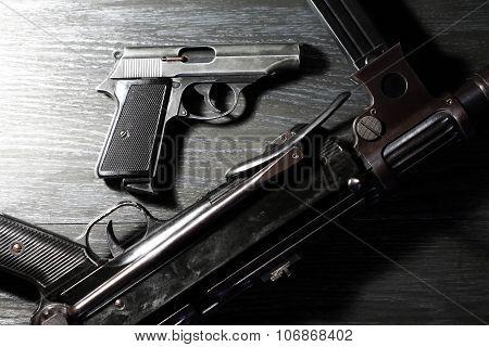 Weapons On Dark