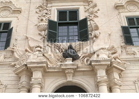 Auberge De Castille In Capital Of Malta - Valletta, Europe
