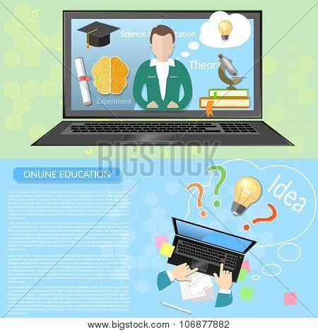 Online Education Distance Learning Student University Virtual Teacher Innovative Knowledge